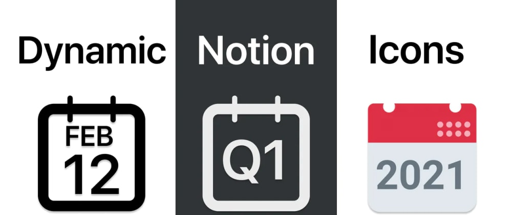 Cover image for Coding 15 Dynamic Time-Based Icons for Notion