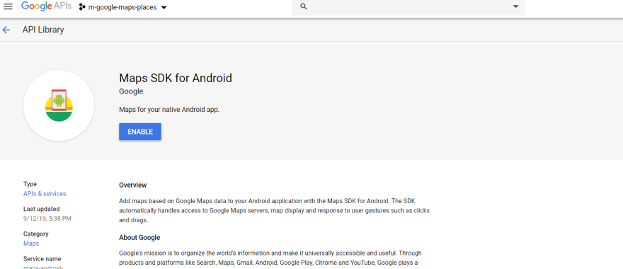Maps SDK for Android