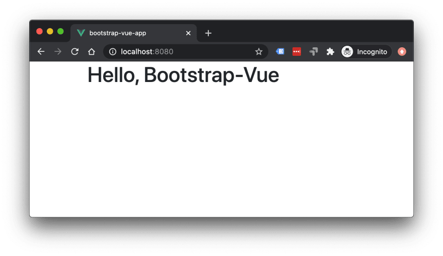 Bootstrap Vue 1