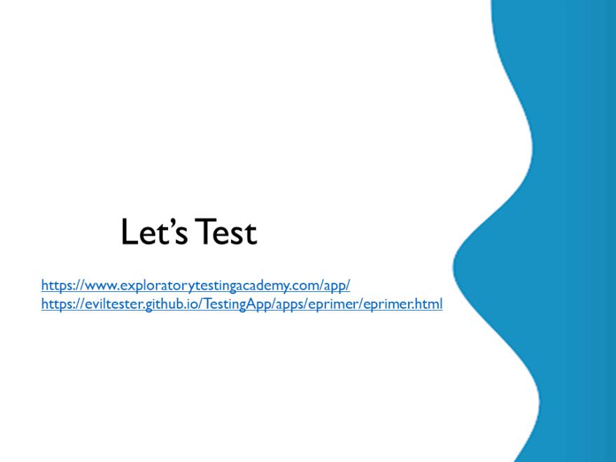 Let's Test