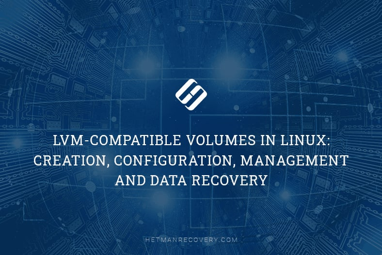 Data Recovery from LVM Volumes in Linux