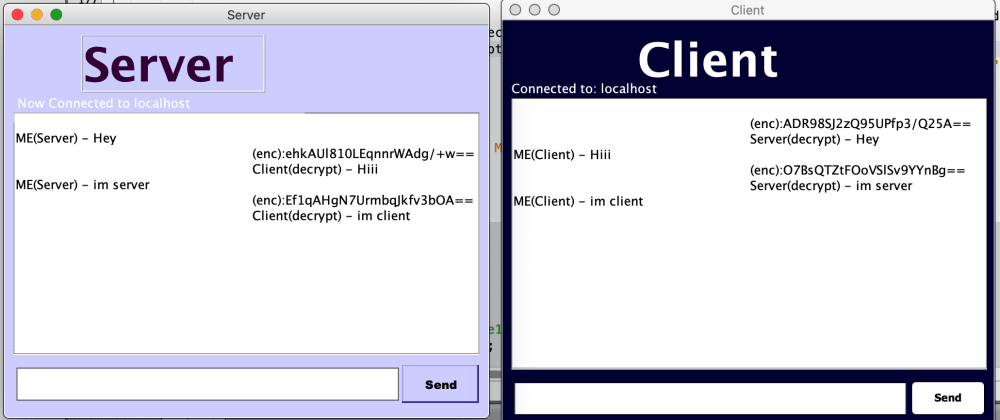 Cover image for Java Socket based chat application with SHA-1 hash encryption