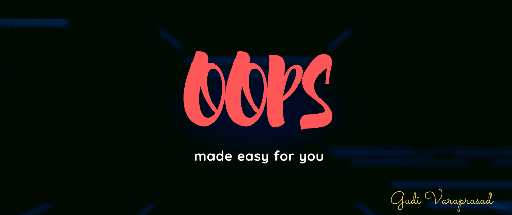 Cover image for OOPS made easy
