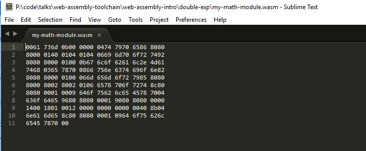 wasm-bytecode