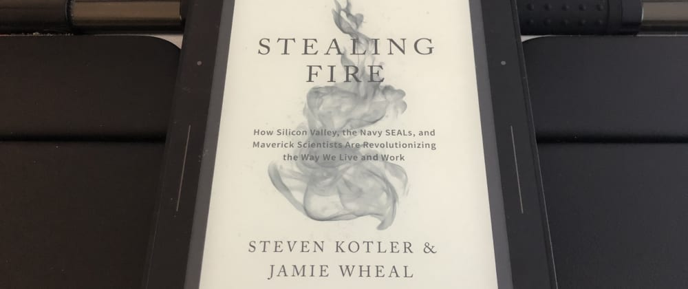 Cover image for Book club in our engineering team – Stealing Fire