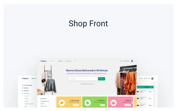 shop font
