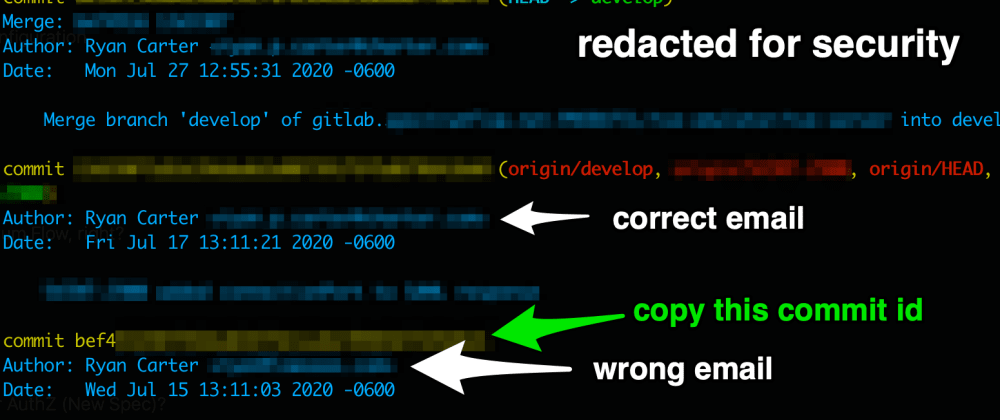 Cover image for Git: Your Email is not a member of team!