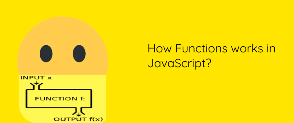 Cover image for How functions work in java Script?