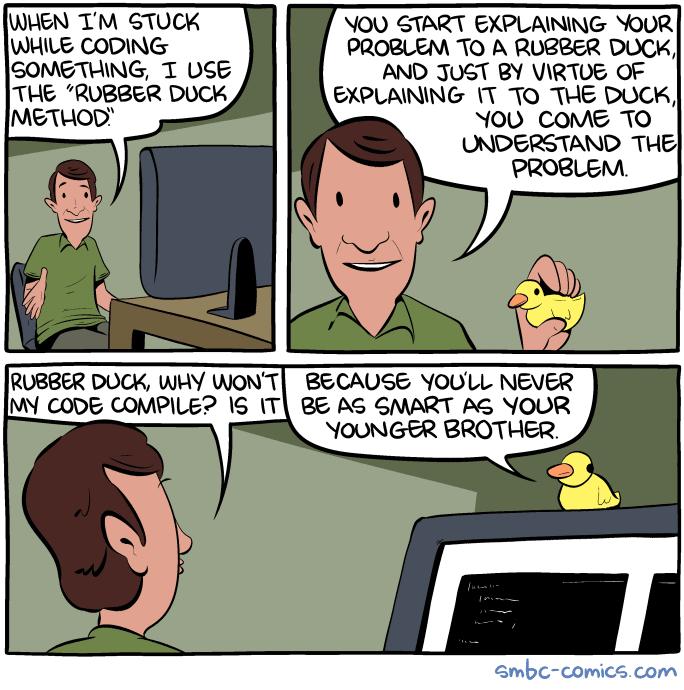 Rubber Duck Debugging 4