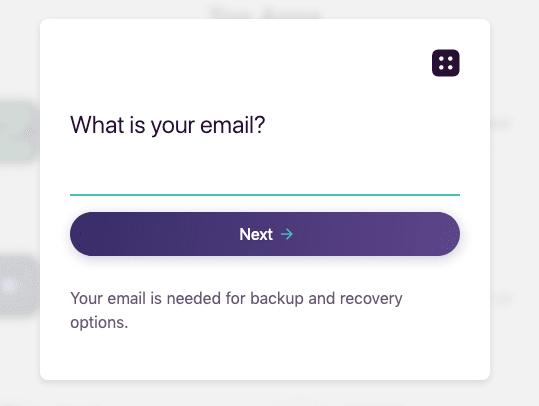 blockstack password