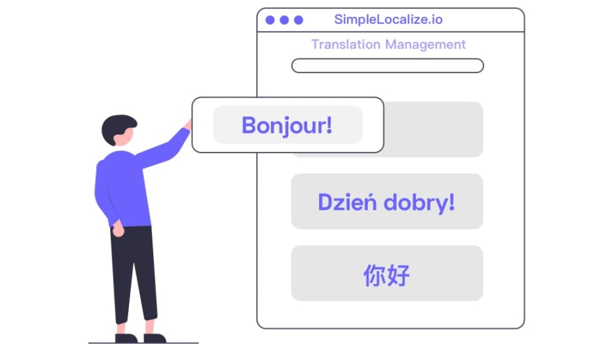 easy localization progress