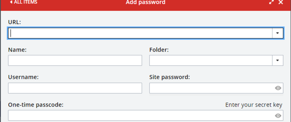 Cover image for Bad UX - LastPass Password Dialog