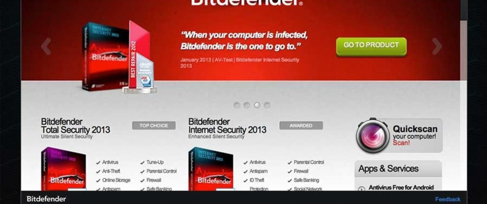 Cover image for Hacking the antivirus: BitDefender remote code execution vulnerability