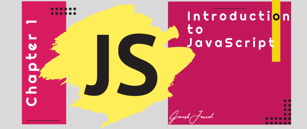 Cover image for Introduction to JavaScript