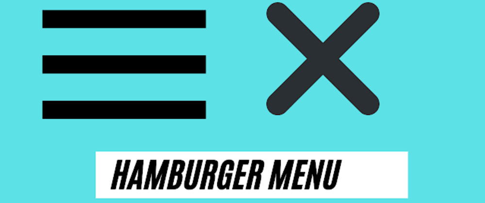 Cover image for Hamburger Menu html css javascript | hamburger menu code