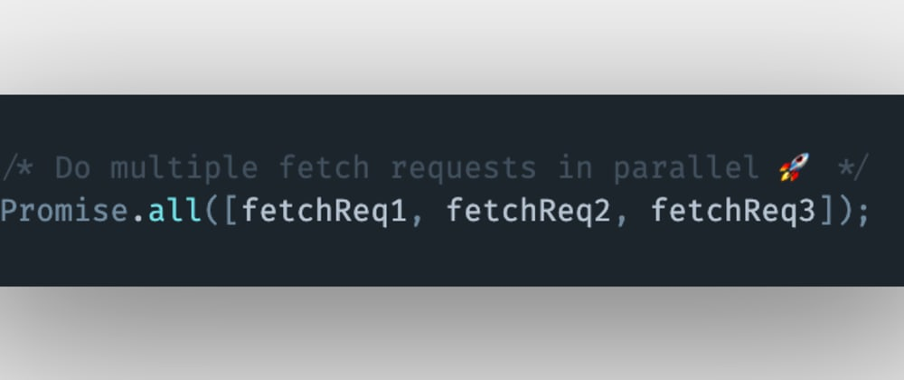 Cover image for How to do multiple fetch requests in parallel using JavaScript?