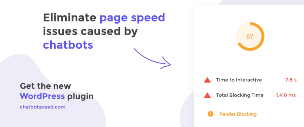 Cover image for How to stop chatbots from killing your page speed