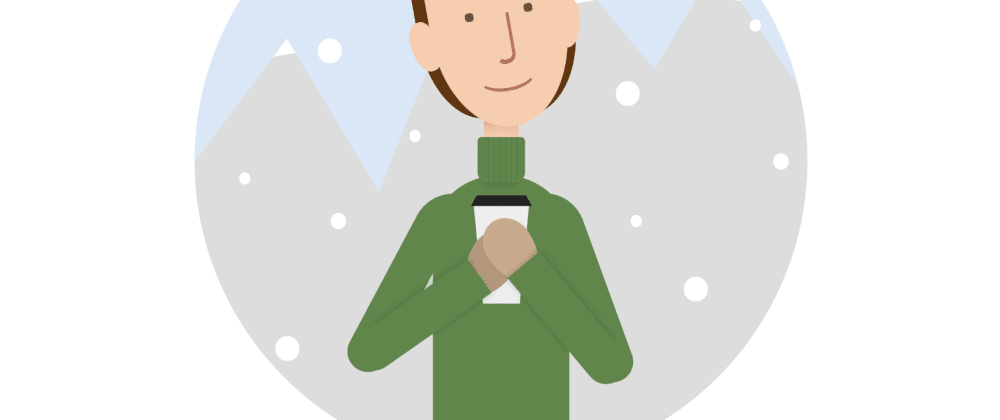Cover image for Drawing a snowy scene in CSS