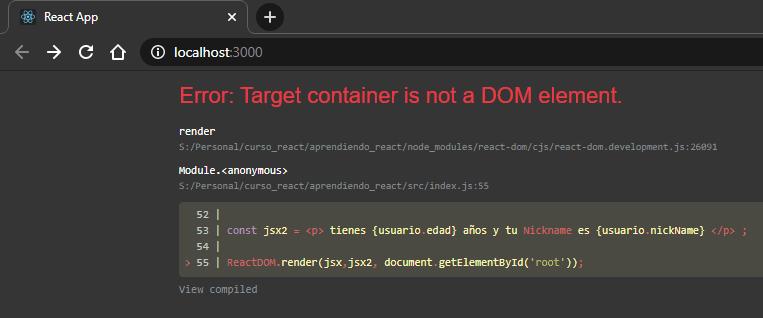 Error, al renderizar varios componentes