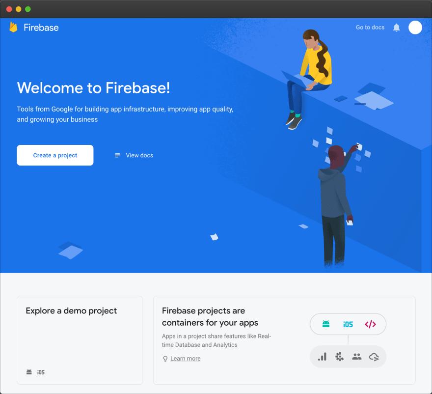 Firebase – empty dashboard