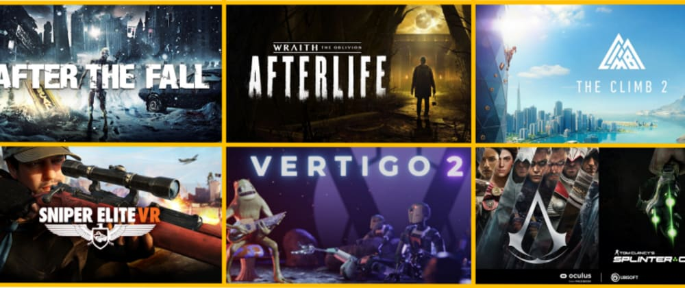 Cover image for The Best VR games coming in 2021