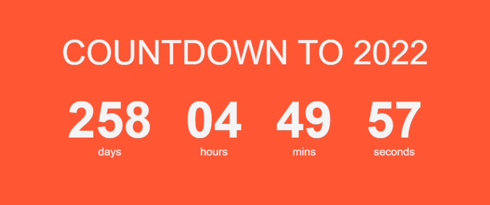Cover image for Building a Countdown App