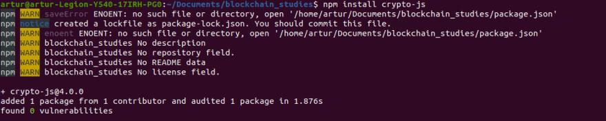 Installing CryptoJS