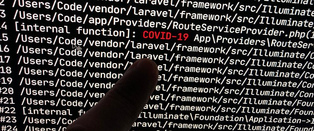 Cover image for Laravel developers during Covid-19 quarentine be like...