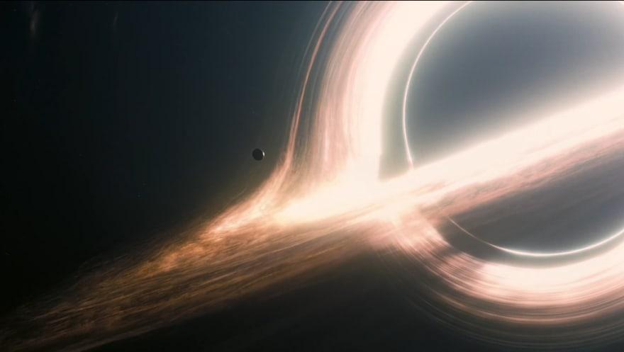 Gargantua, Accreting (from Interstellar)