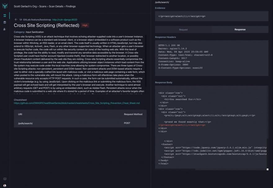 StackHawk Platform Results