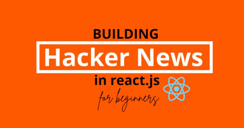 Building Hacker News in React.js