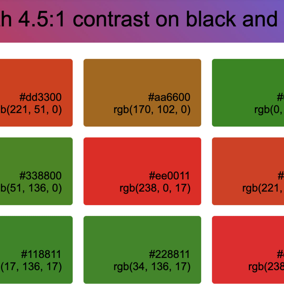 Which Colors Look Good On Black And White Dev