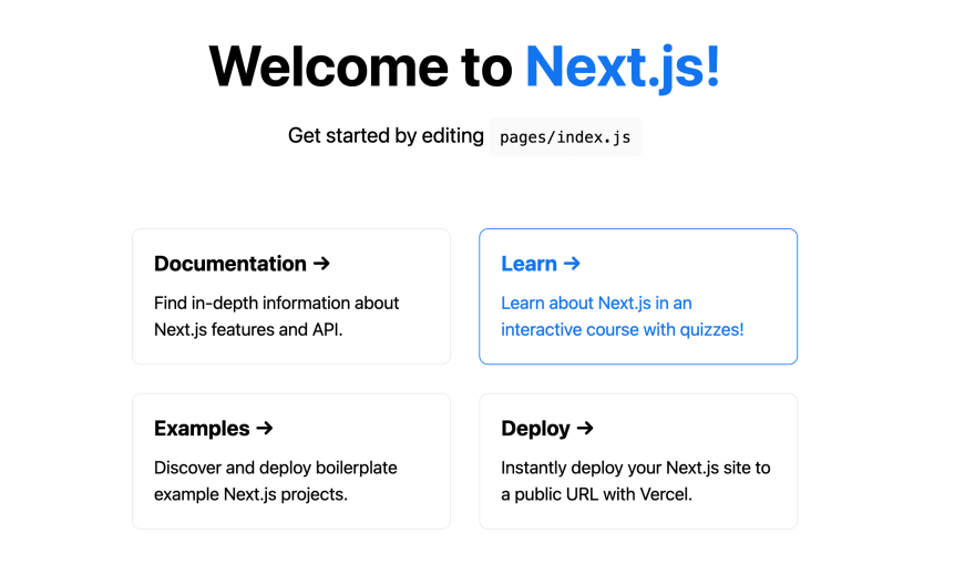 Next JS