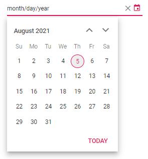 Enabling Mask Input in Angular DatePicker