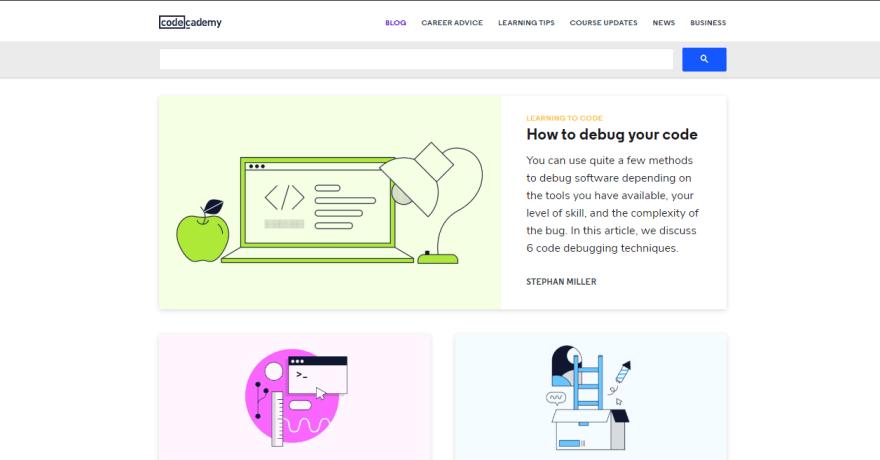 codecademy blog