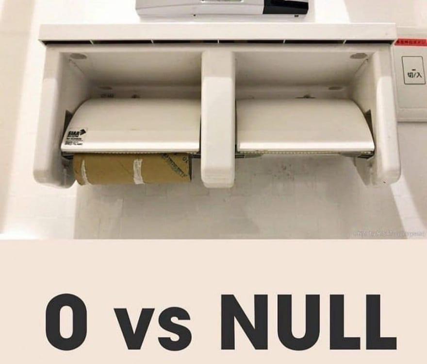 zero vs null