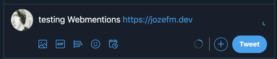 Test webmentions tweet