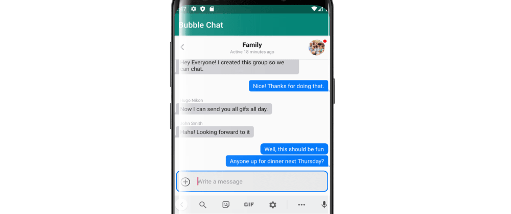 Cover image for Android Chat Bubbles: Building iOS Style Chat in Android