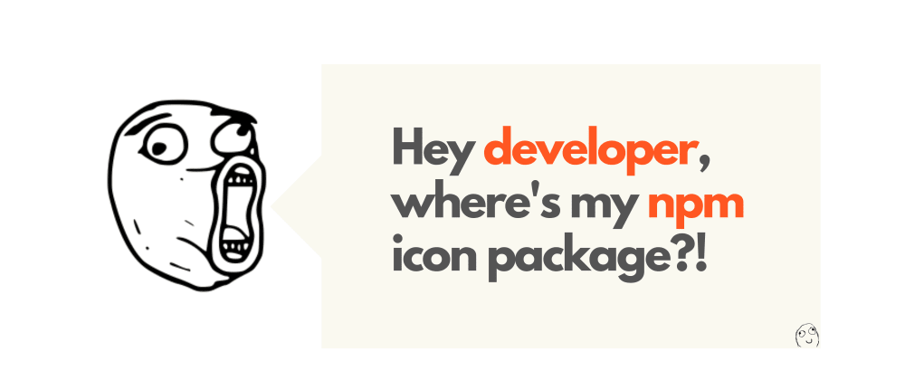 Cover Image for Beautiful NPM Icon packages for your next web project