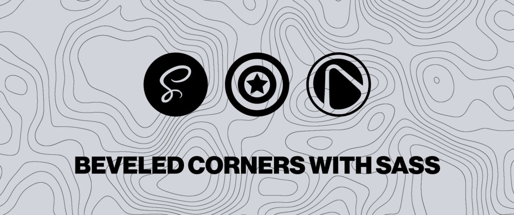Cover image for Beveled Corners with Sass