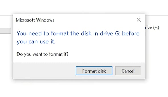 Accidental Removal of a Partition