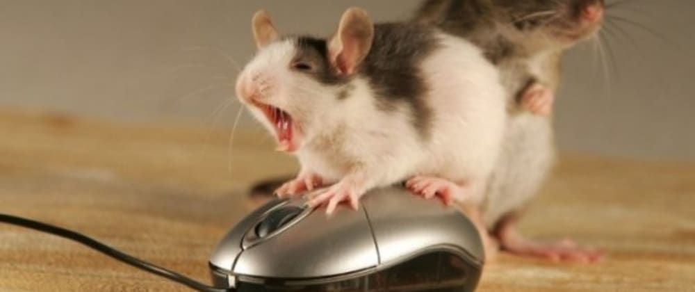 Cover image for How to never touch your mouse again 🐭