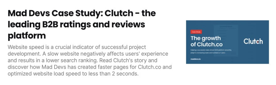 The growth of Clutch.co
