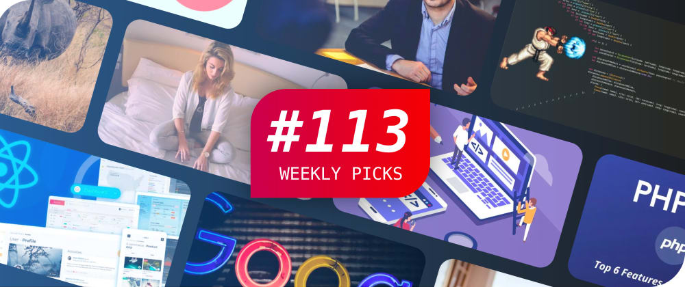 Cover image for ⚛️ JavaScript Interview Questions, React, CSS, and More — Weekly Picks #113