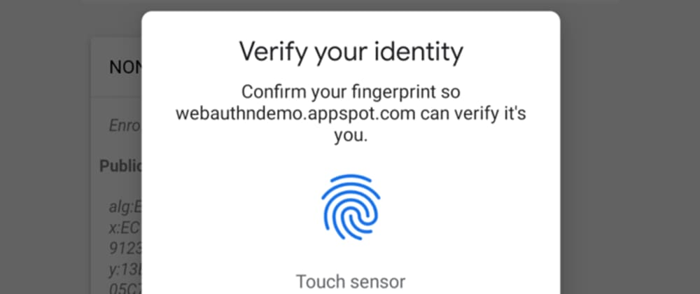 Cover image for Fingerprint-based authentication and Authorization in Python(Django) web applications