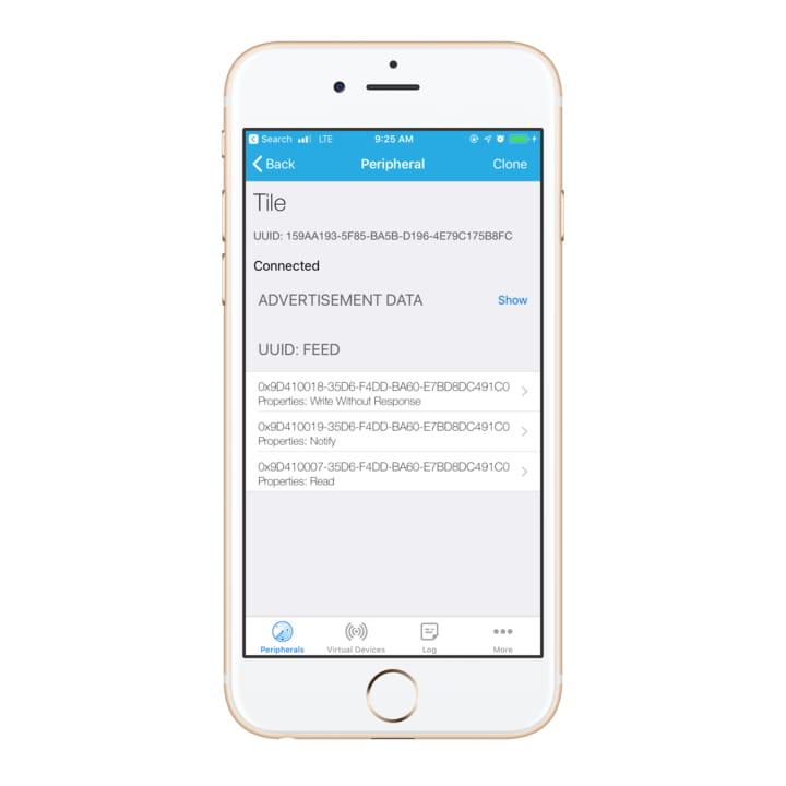 Service information using Light Blue