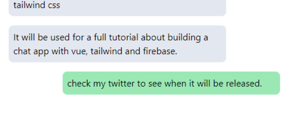 Cover image for Build a mobile chat layout with tailwindcss