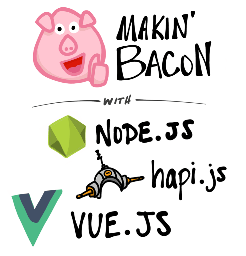 Makin' Bacon with Node.js, Hapi, and Vue