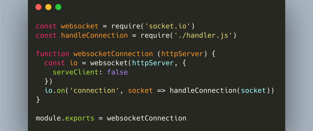 Cover image for JavaScript: How to Implement a WebSocket Backend