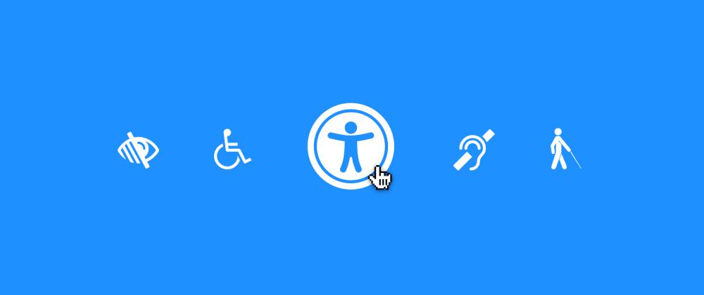 Cover image for Um guia prático da acessibilidade web: Parte 1: Meu site é acessível?